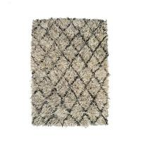 / a.depech NZ wool rug dark mix