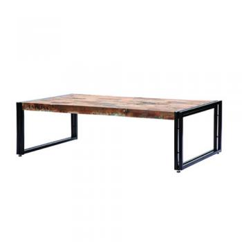 古材と鉄の斬新ミックス d-Bodhi FERUM INDUSTRIAL COFFEE TABLE L
